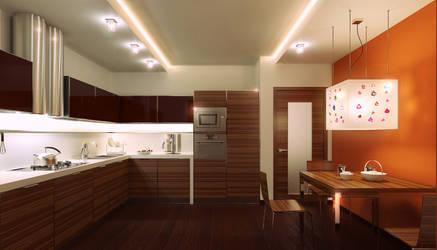 Kitchen_OYSTER_ by SamorizMisha