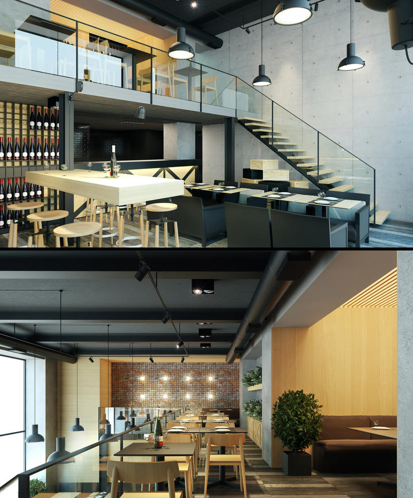 Le Corbusier caffe 4 by SamorizMisha