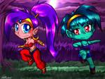 A Genie and a Zombie