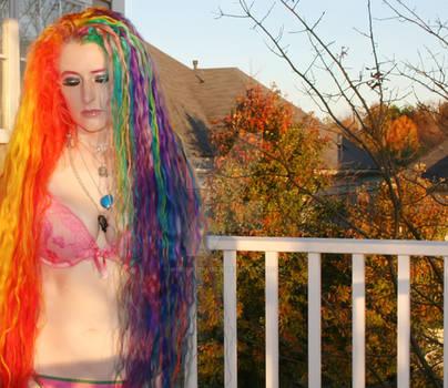 Rainbow Rapunzel