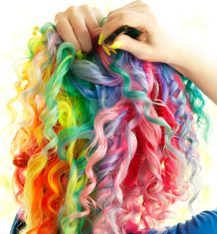 Rainbow Ringlets by wisely-chosen