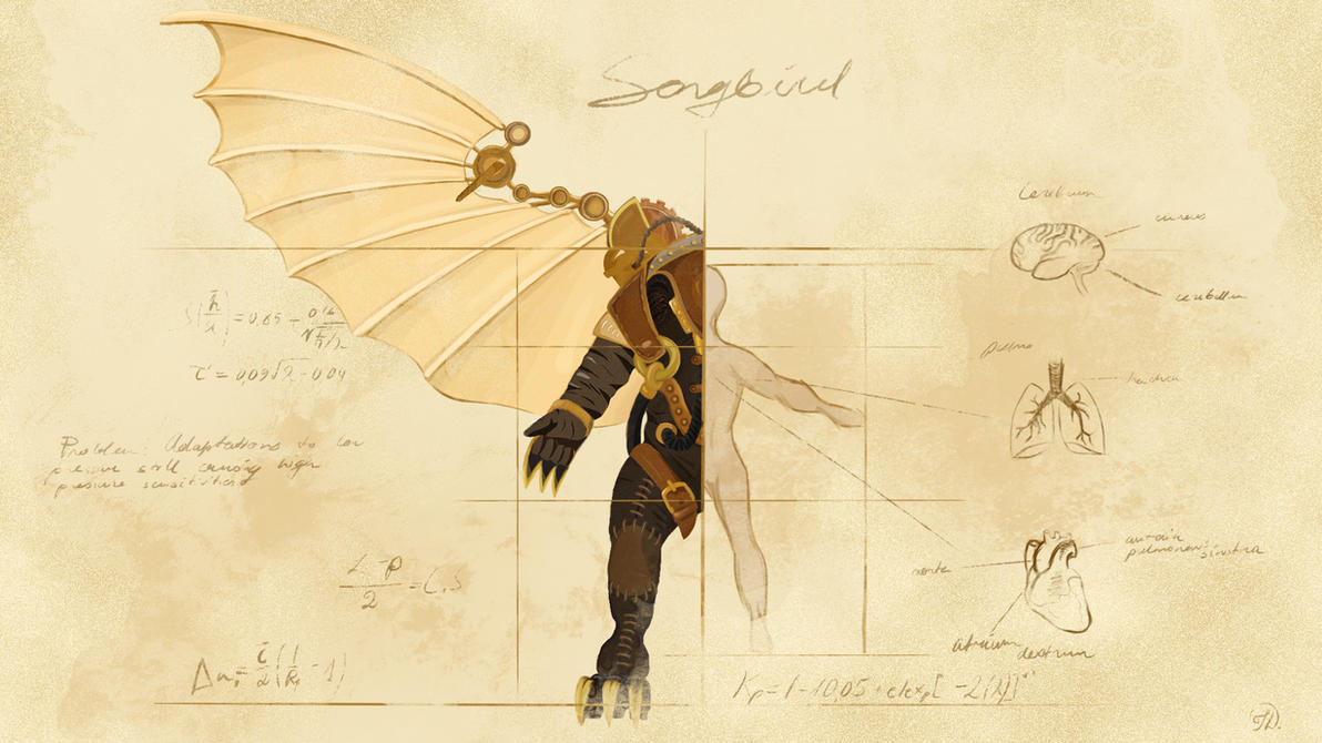 Songbird by 1CrazyCactus