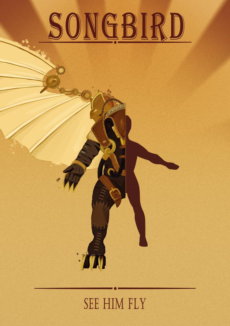 Songbird Poster by 1CrazyCactus