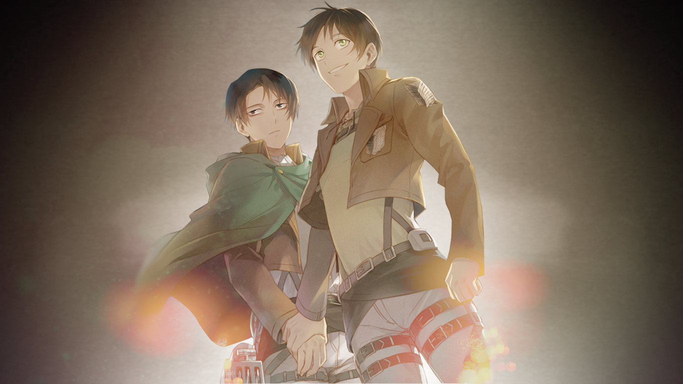 Eren And Levi Shingeki No Kyojin Wallpaper By Zerokiryuuaddict On Deviantart