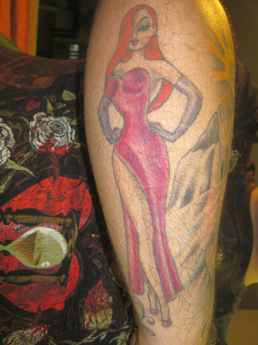 Jessica Rabbit Tattoo by SlimyboyDave on DeviantArt