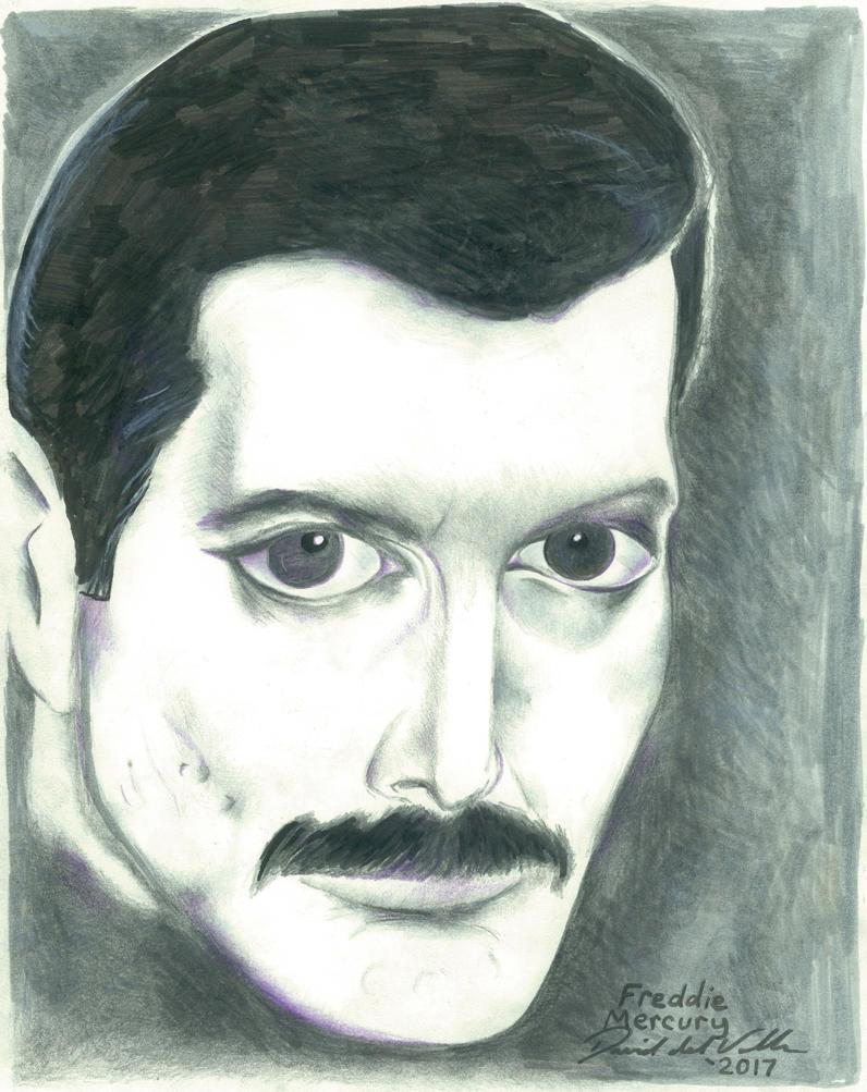 Freddie Mercury by SlimyboyDave