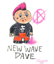 NEW WAVE DAVE by SlimyboyDave