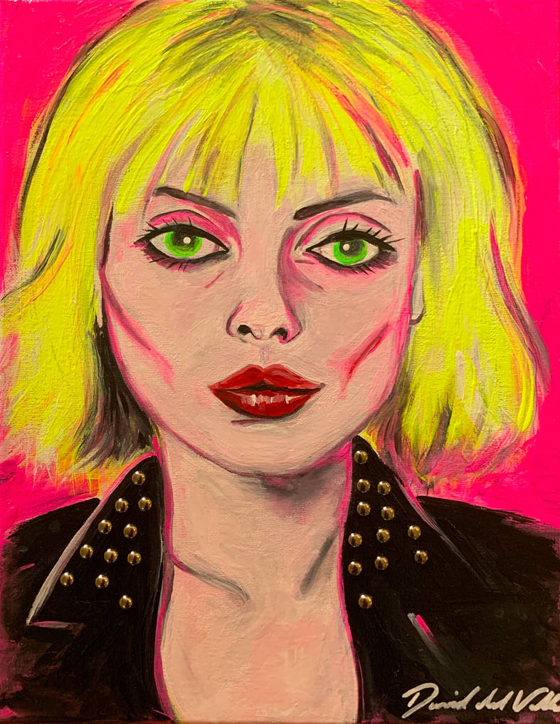 DEBBIE HARRY by SlimyboyDave