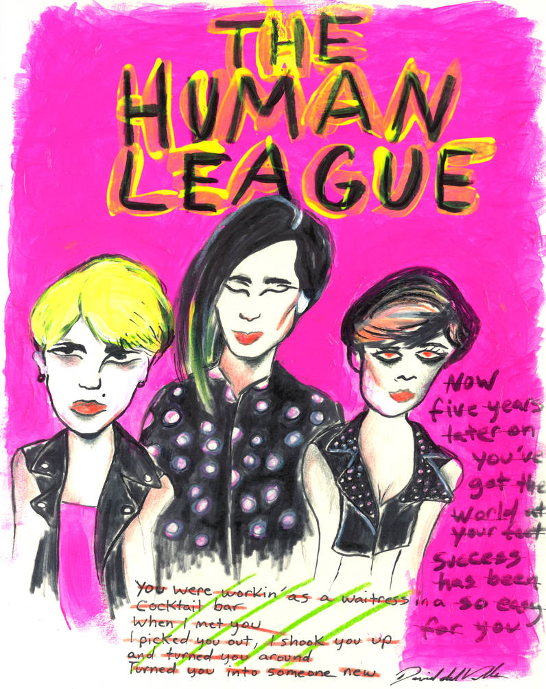 THE HUMAN LEAGUE by SlimyboyDave