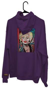 Kandykorn X Slimyburger - Purple Marilyn Hoodie