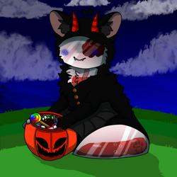 Antoni,s first halloween