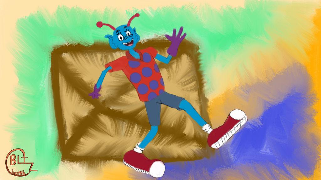 Lenny Bostin Art Jam 8 (SpongeBob SquarePants)