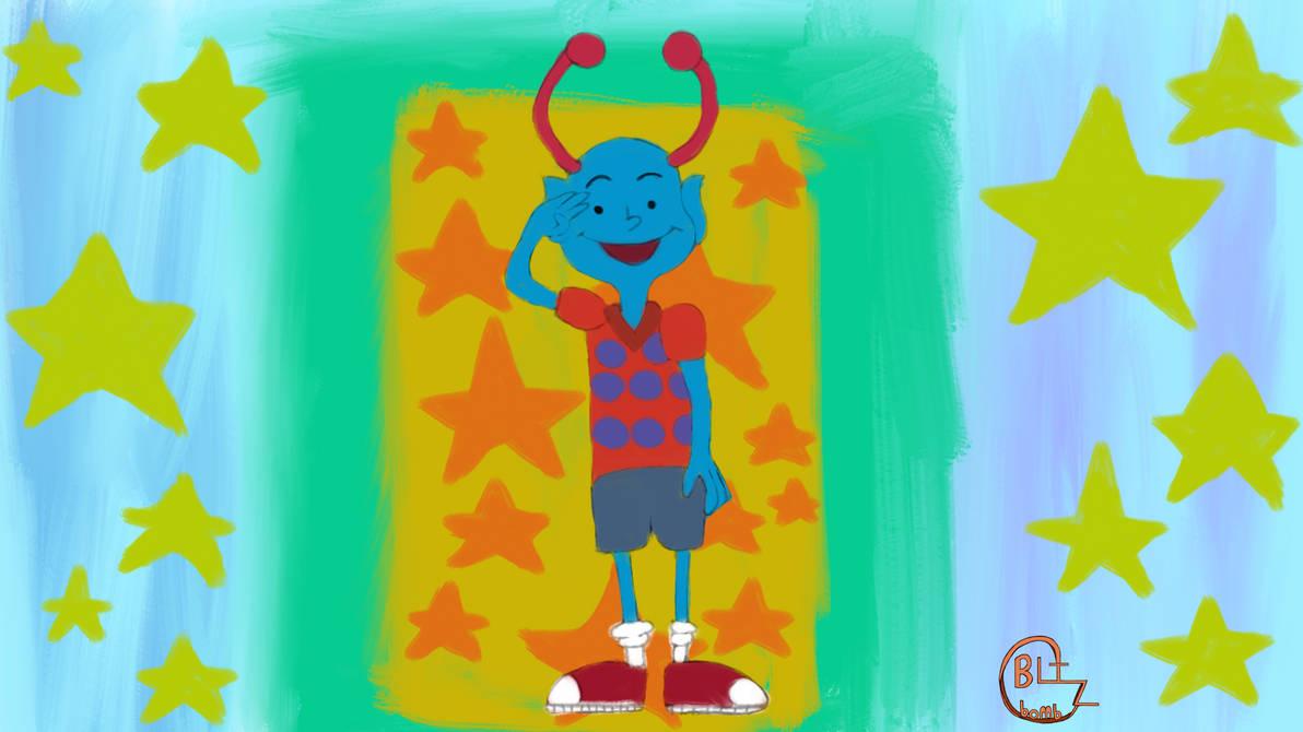 Lenny Bostin Art Jam 11 (Chalkzone)
