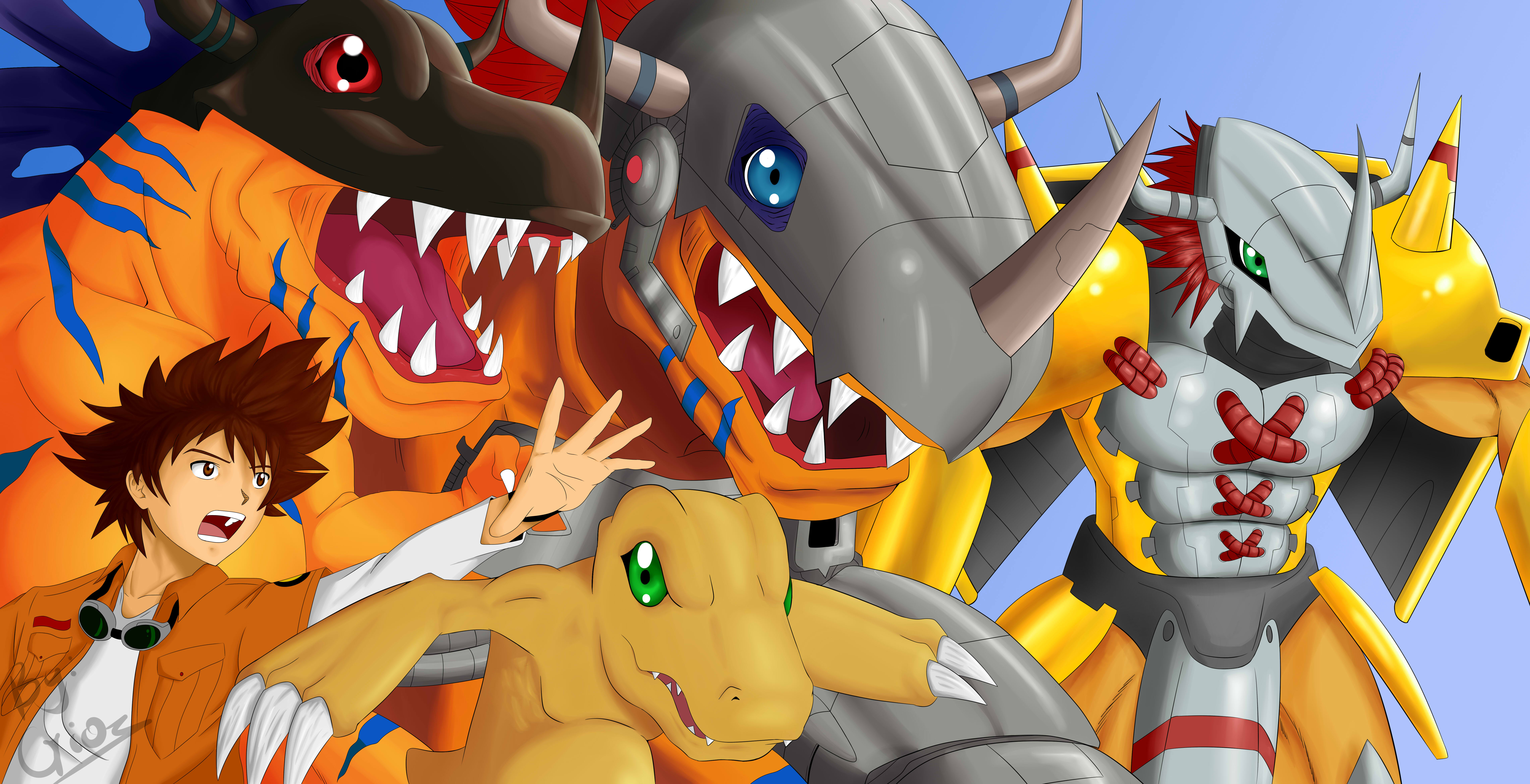 Anime & Manga Digimon Pictures -
