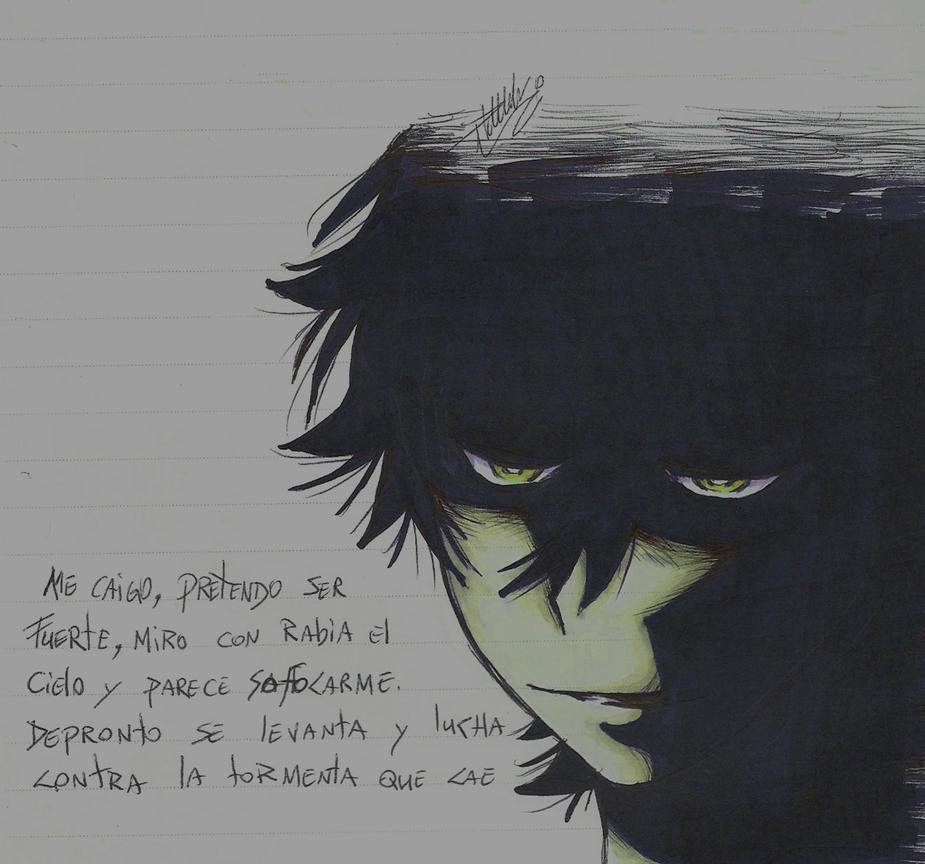 Shun Ichijiku madness by luxray-meoth