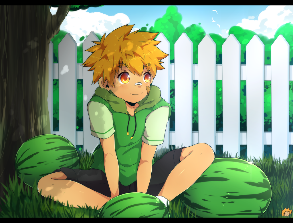 Chilling out by MikkouKun