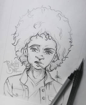 Sucka! - Sketch Drawing