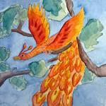 Firebird and sparrow