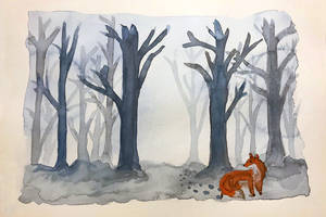 Lost in the woods by Erdbeersternchen