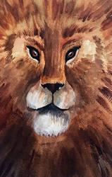 Face the lion