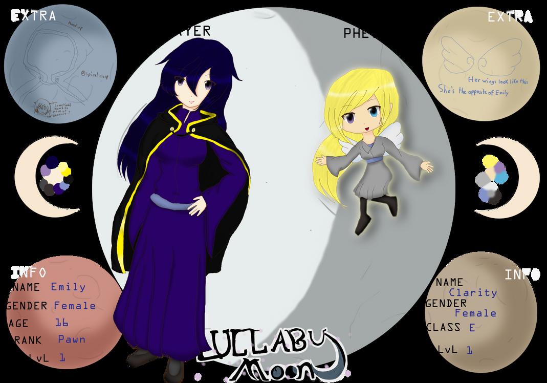 .:Lullaby Moon:. Emily = Clarity by tashaj4de