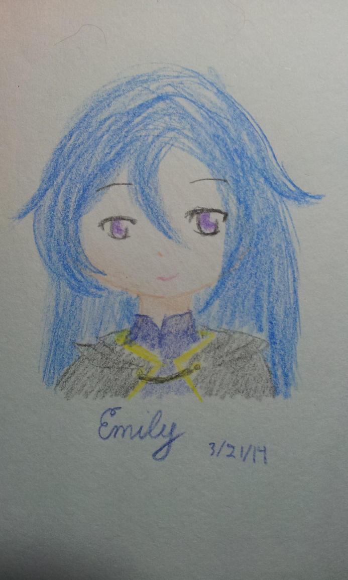 Emily chibi headshot? by tashaj4de