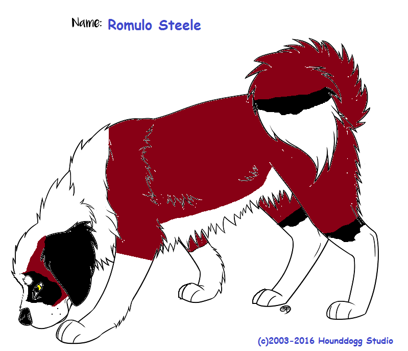 Romulo ref sheet by RJ8