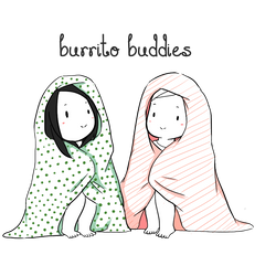 Burrito buddies by DeShaylo