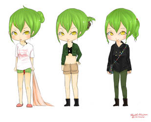 Maru's Outfits by DeShaylo