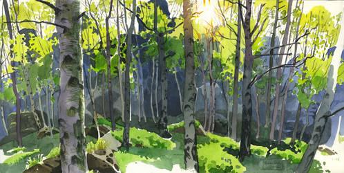 Ostrov in Spring by CharlotteHintzmann
