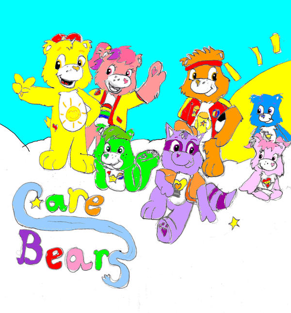 Care Bears Wallpaper: Care Bears Gruop By Chivadecorazon On DeviantArt