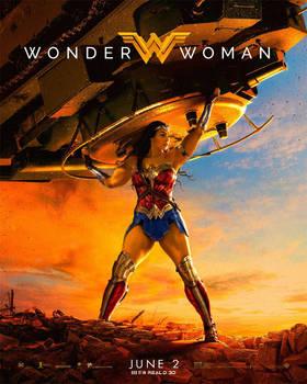 Wonder Woman Tank Poster