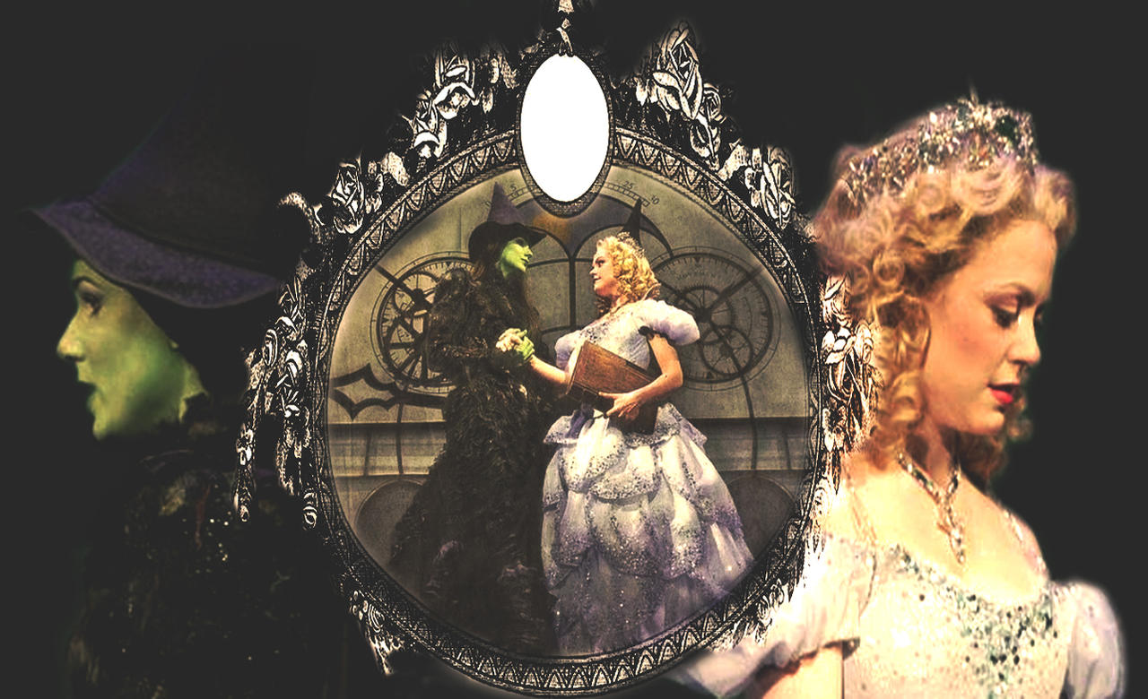 wicked the musical gelphie desktop background by