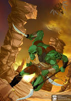 thark warrior by psdeluxe