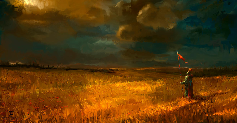 20150303 Golden Field by psdeluxe