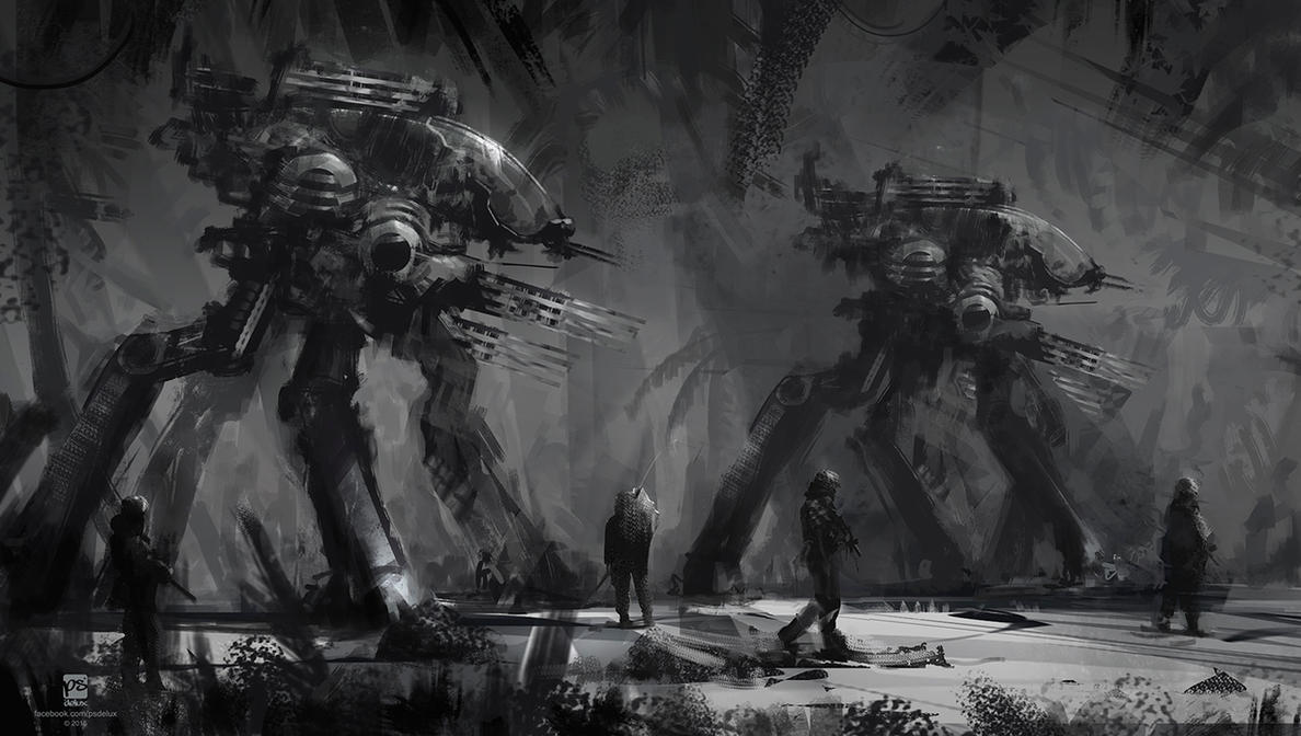 20150517 BW Patrols by psdeluxe