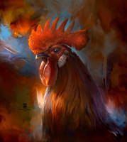20150904 Rooster Psdelux by psdeluxe