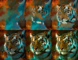 20150904 Tiger Process Psdelux by psdeluxe