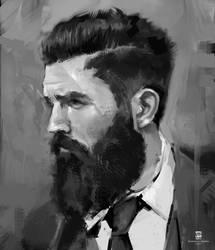 20151118 Male Beard Face Psdelux