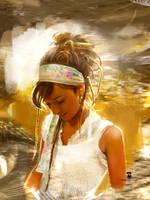 20160130 #dreadlocks #girl #portrait Psdelux by psdeluxe
