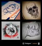 20160707 Instagram Sketches Psdelux