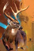 20161210 Deer Psdelux by psdeluxe