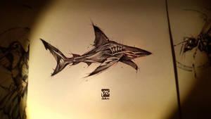 Shark Sketch Psdelux