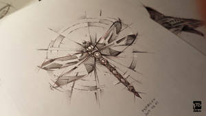 Dragonfly Sketch Psdelux