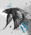 20170916 Crow Sketch Psdelux