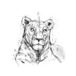 20180122 Lion Psdelux