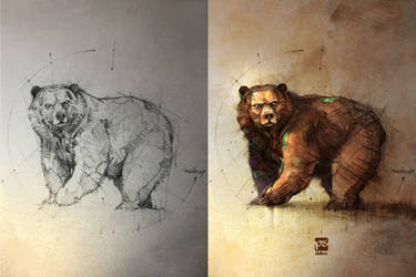 Bear by psdeluxe