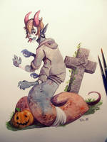 [The Shelter] Anshulloween by Toth-eM