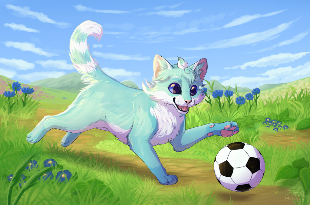 Playing [Comm] by Mihoku-san