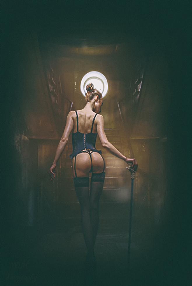 ...A Lady with a stick...... by jopageri62